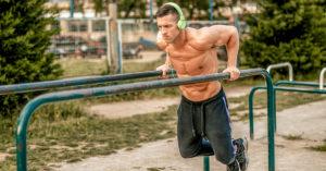 musculation au poids du corps dips