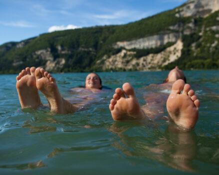 lac de baignade pau